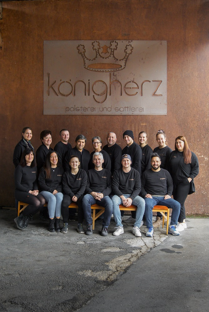 Belegschaft der Königherz GmbH
